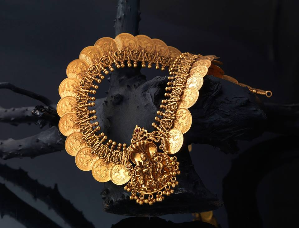gold lakshmi kasumala creations jewellery bangalore