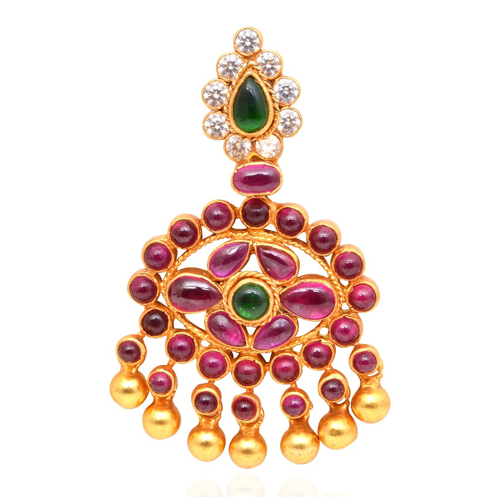 gold-coated-ruby-silver-pendant-from-grt-jewellers